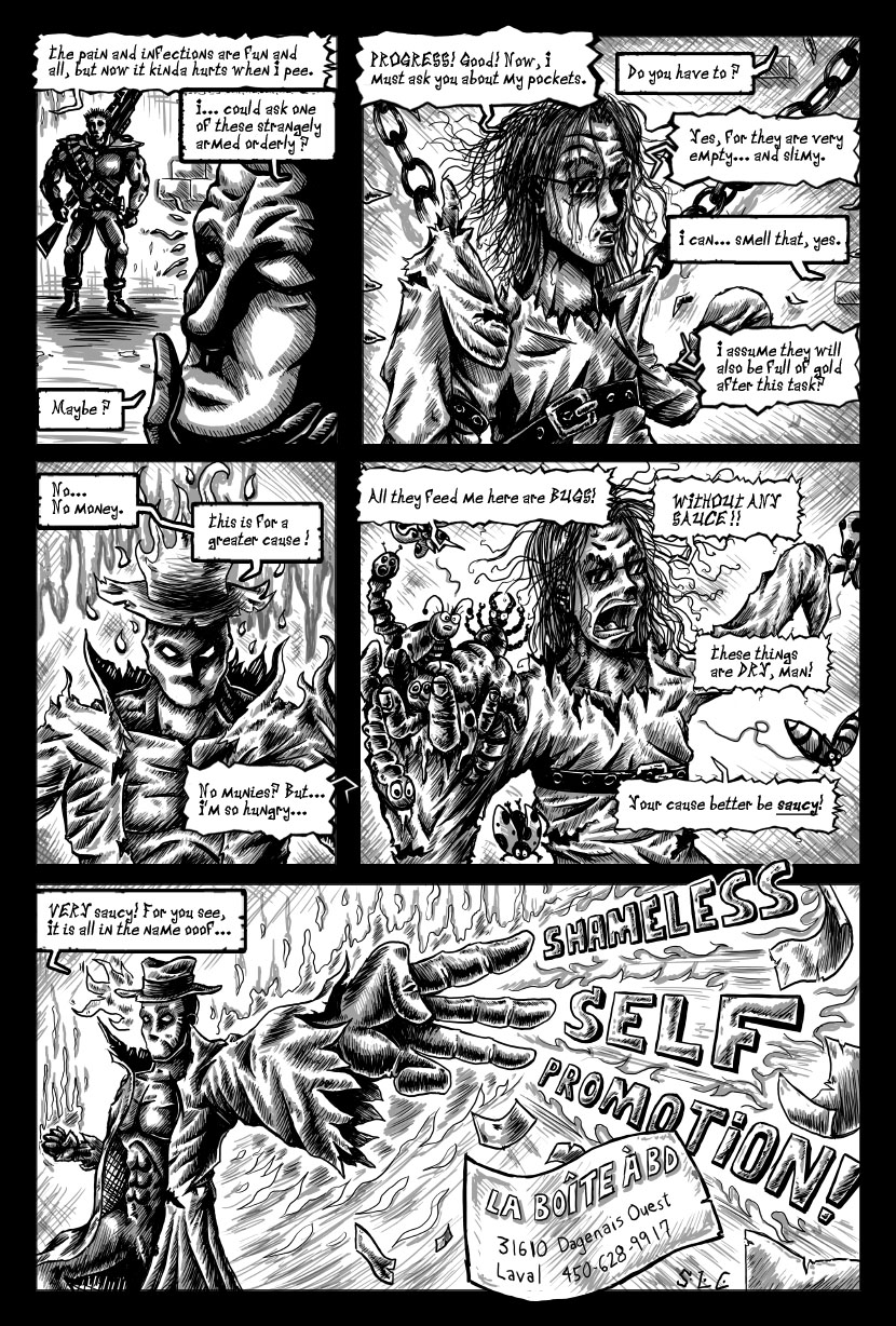 Strange Men Shouting Strange Words page2