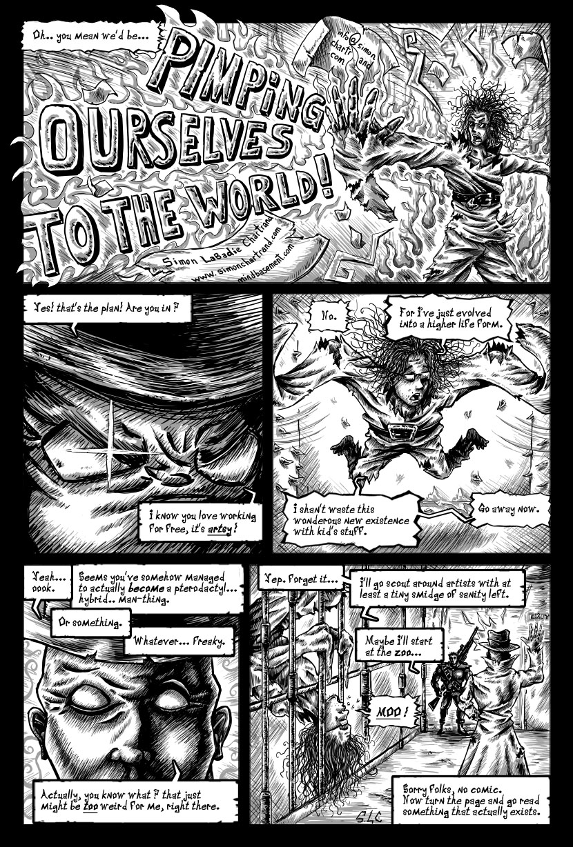 Strange Men Shouting Strange Words page3